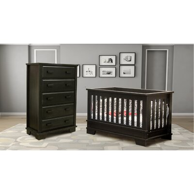 Berg Furniture Alpine Nursery 5 Drawer Chest