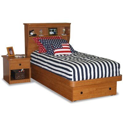 Berg Furniture Sierra Twin Platform Bed with Storage
