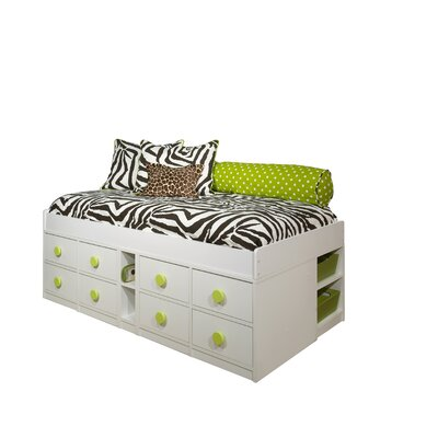 Berg Furniture Sierra Jr Captain Bed with Storage