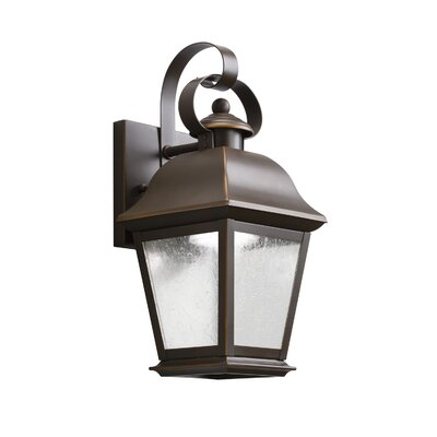 Kichler Mount Vernon 1 Light Outdoor Wall Lantern Reviews Wayfair