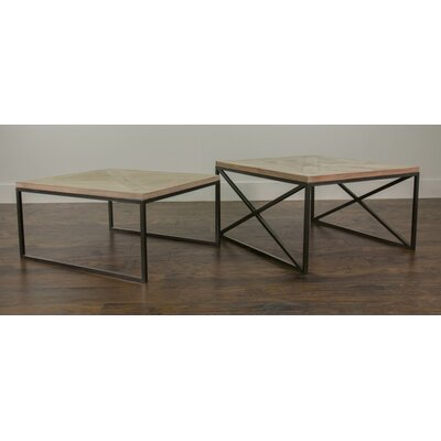Bungalow Rose Mesta 2 Piece Coffee Table Set
