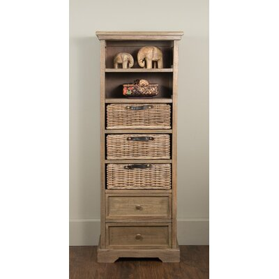 Jeffan Allison Chest in Rustic Grey