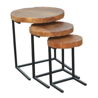 Brayden Studio Hoekstra 3 Piece Nesting Tables