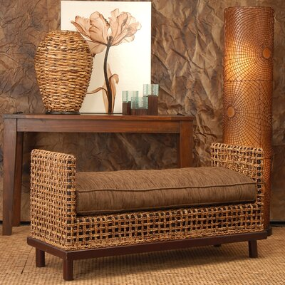 Jeffan Dimitrio Abaca Fiber Bedroom Bench