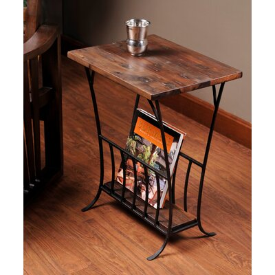 William Sheppee Depot Magazine End Table