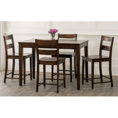 William Sheppee Sonoma 5 Piece Counter Height Dining Set