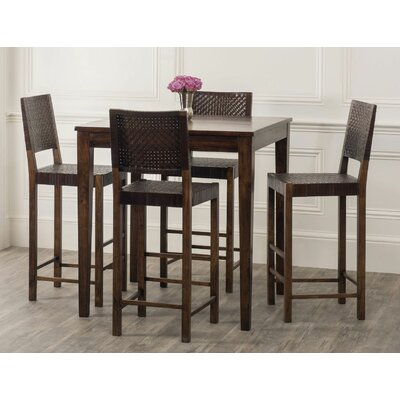 William Sheppee Sonoma 5 Piece Pub Table Set