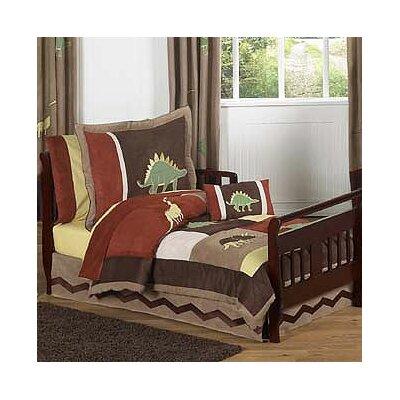 Sweet Jojo Designs Dinosaur Land 5 Piece Toddler Bedding ...