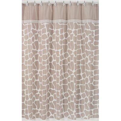 Sweet Jojo Designs Giraffe Cotton Shower Curtain U0026 Reviews | Wayfair