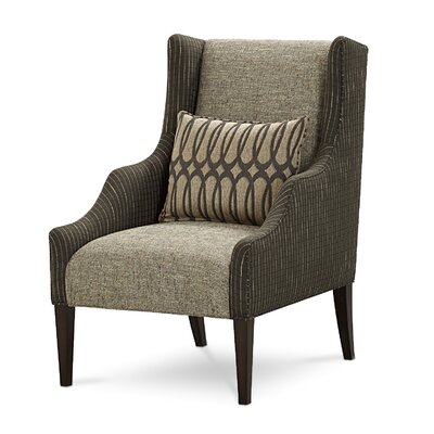 A.R.T. Intrigue Harper Mineral Wing Chair Image