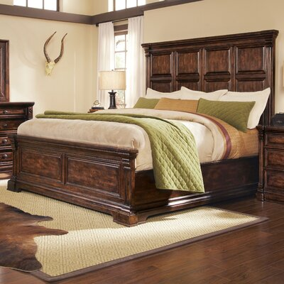 A.R.T. Whiskey Oak Panel Bed