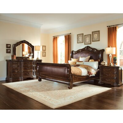 A.R.T. Valencia Sleigh Customizable Bedroom Set