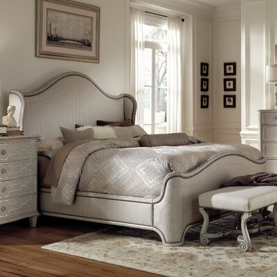 A.R.T. Chateaux Upholstered Platform Bed