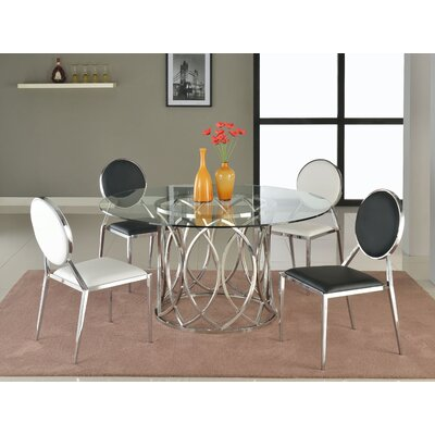 Chintaly Imports Courtney Dining Table
