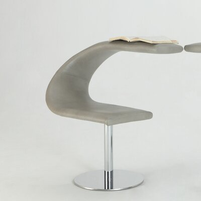 Wade Logan Amari Swivel Left Funky Chair