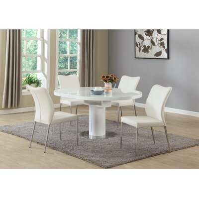 Wade Logan Zahir 5 Piece Dining Set