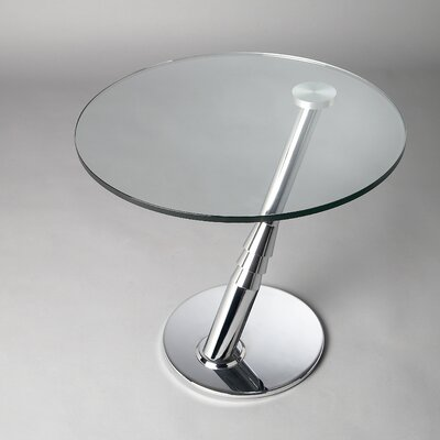 Chintaly Imports Angle Arm End Table
