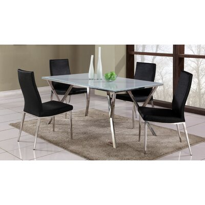 Chintaly Imports Jade 5 Piece Dining Set