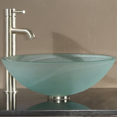 Avanity tempered glass vessel bathroom sink reviews Bathroom tempered glass vessel sink