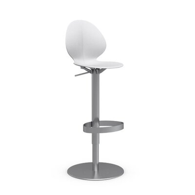 Calligaris Basil Adjustable Height Swivel Bar Stool