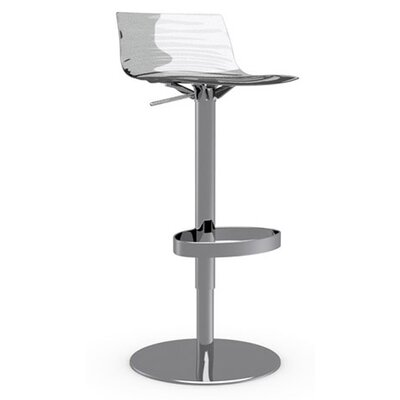 Calligaris L'Eau Adjustable Height Swivel Bar Stool