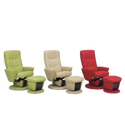 Mac Motion Relax-R Laval Fabric Swivel Glider and Ottoman