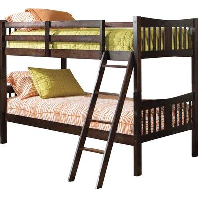 storkcraft caribou twin bunk bed reviews wayfair - Bunk Bed Frames