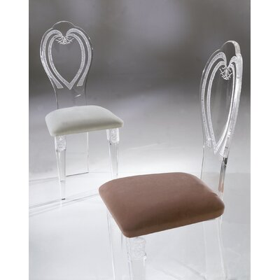 Shahrooz Classic Acrylic Side Chair (Set ..