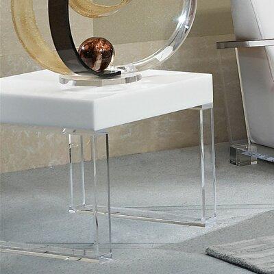 Shahrooz Contempo Acrylic End Table