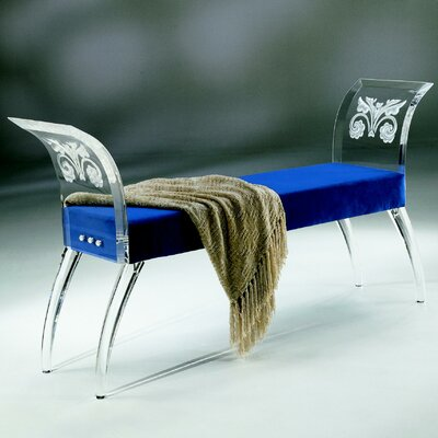 Shahrooz Empire Acrylic Bench