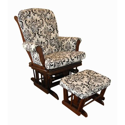 Cotton Tale Girly Floral Glider and Ottoman
