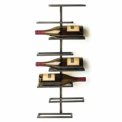 Red Barrel Studio Curren 8 Bottle Wall Mounted Wine Rack