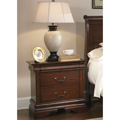 Liberty Furniture Carriage Court 2 Drawer Nightstand