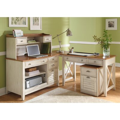 Liberty Furniture 5-Piece Standard Desk Office Suite