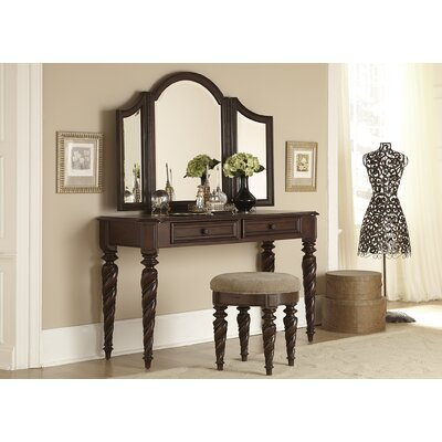 Liberty Furniture Arbor Place Vanity Set with Mirror