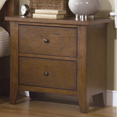 Liberty Furniture Hearthstone 2 Drawer Nightstand