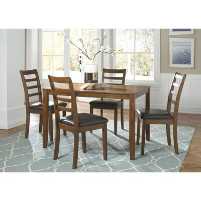 Darby Home Co Bumgardner 5 Piece Dining Set