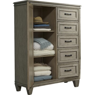 August Grove Grace 5 Drawer Chest