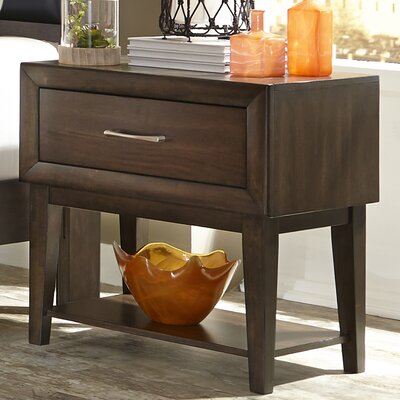 Three Posts Bloomington 1 Drawer Nightstand