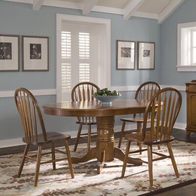 Rosalind Wheeler Throckmorton 5 Piece Dining Set