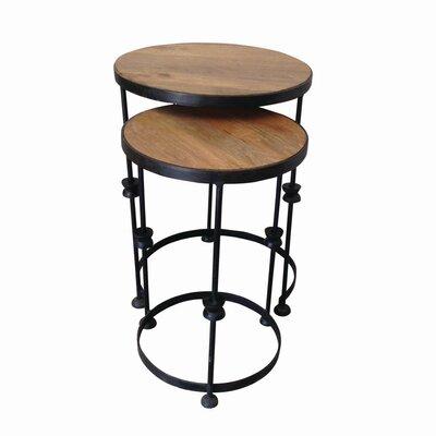 Trent Austin Design Cocao 2 Piece Nesting Tables