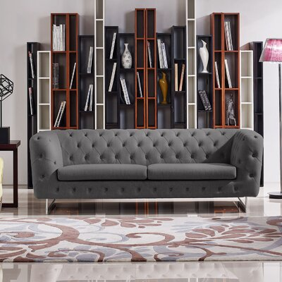 Diamond Sofa Catalina Tufted Sofa