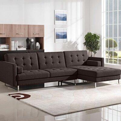 Diamond Sofa Opus Sleeper Sectional & Reviews