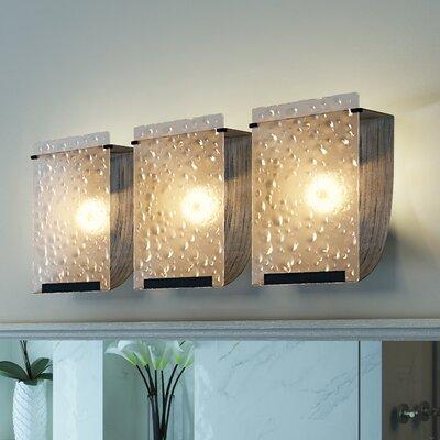 Varaluz Rain Recycled 3 Light Bath Vanity Light & Reviews Wayfair
