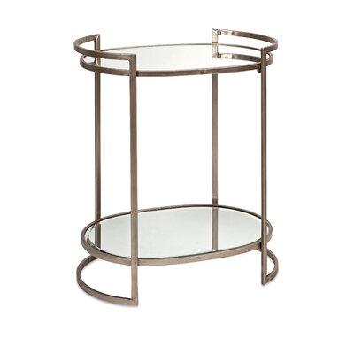 Mercer41 Frinton Mirror End Table