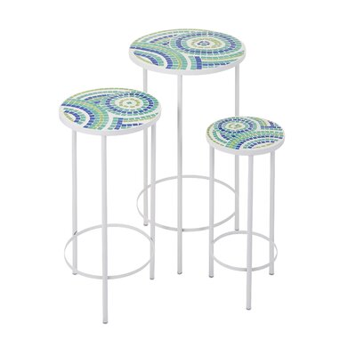 Latitude Run Three Forks 3 Piece End Table Set