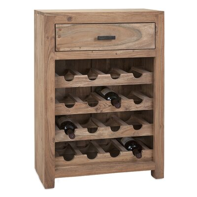 Laurel Foundry Modern Farmhouse Alpine 16 Bottle Floor Wine Cabinet Image