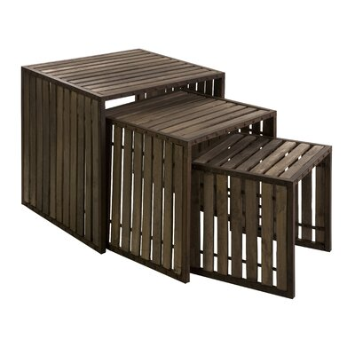 Trent Austin Design Sinopah 3 Piece Nesting Tables