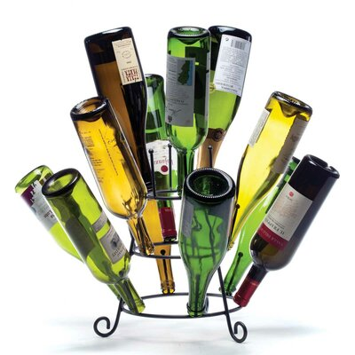 Oenophilia Porcupine 19 Bottle Tabletop Wine Rack