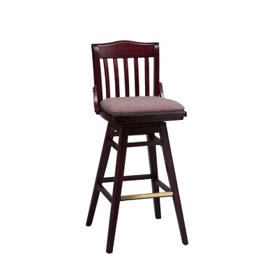 Regal School House Swivel Bar Stool